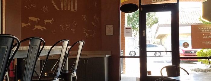 Caveman Burgers is one of Locais curtidos por Kris.