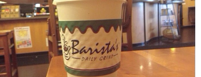 Barista's Daily Grind is one of West to East XC trip.