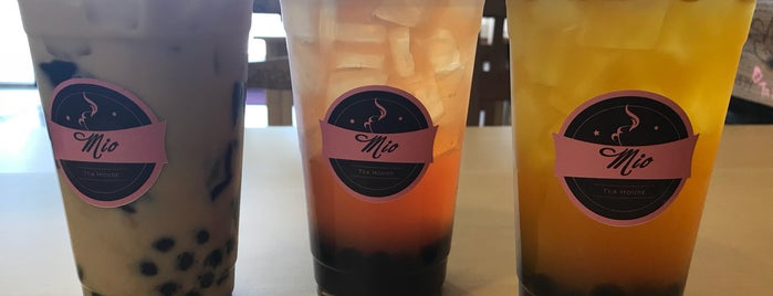 Mio Tea House is one of SoCal.