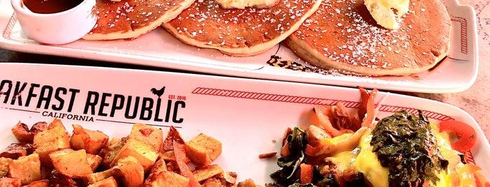 Breakfast Republic is one of Los Angeles.