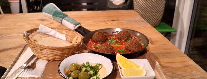 MEZZE hummus & falafel is one of P.