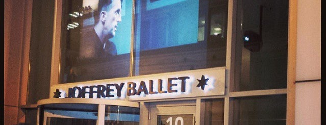 The Joffrey Ballet is one of Lieux qui ont plu à Rick.