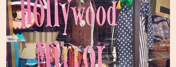 Hollywood Mirror is one of Thrift store.