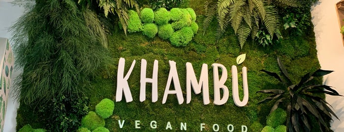 Khambu Vegan Food is one of Valencia 2020.