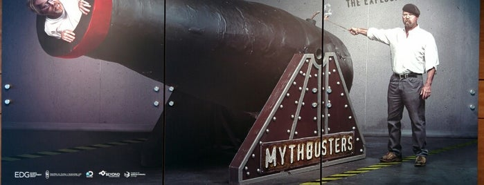 Mythbusters at DMNS is one of Denver - CO USA.