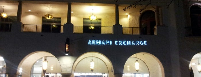Armani Exchange is one of Lieux qui ont plu à Danyel.