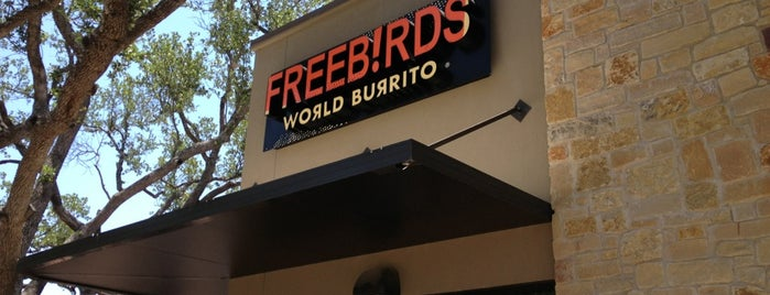 Freebirds World Burrito is one of Liz'in Beğendiği Mekanlar.
