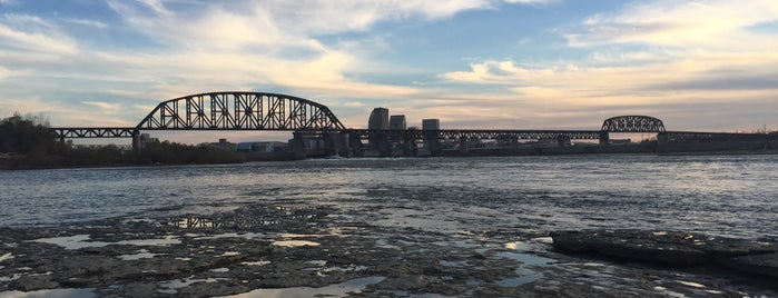 Falls of the Ohio State Park is one of Louisville.