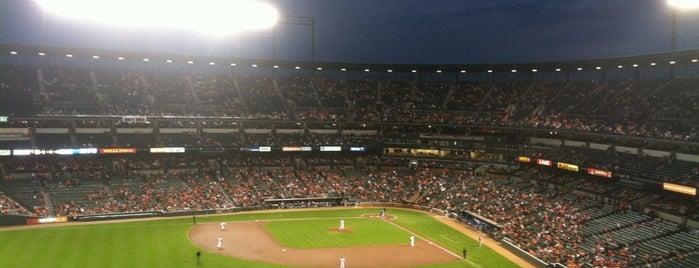 オリオール・パーク・アット・カムデン・ヤーズ is one of MLB parks.