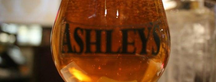 Ashley's Ann Arbor is one of 54 Bars Where It's Raining Men.