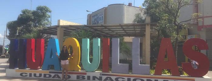Huaquillas is one of สถานที่ที่ Junior ถูกใจ.