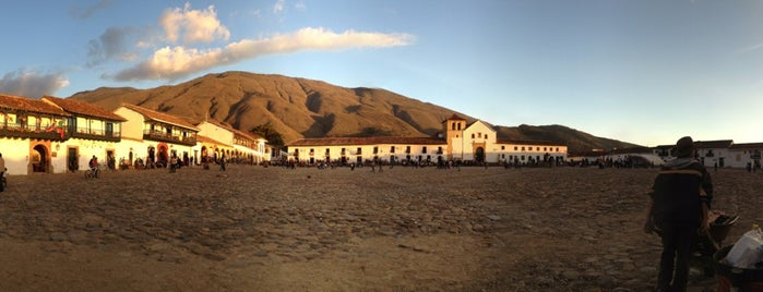 Plaza Mayor de Villa de Leyva is one of Turismo Colombia.