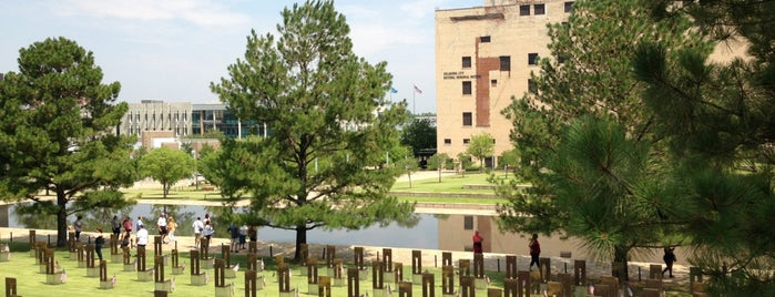 Oklahoma City National Memorial & Museum is one of US Landmarks.