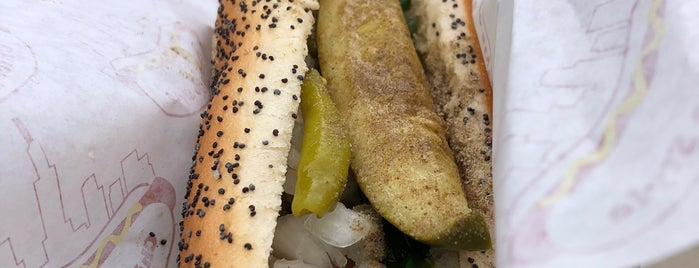 Relish Chicago Hot Dog Stand is one of Indiana Bucket List.