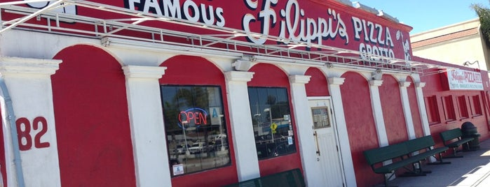 Filippi's Pizza Grotto is one of Coronado Island (etc).
