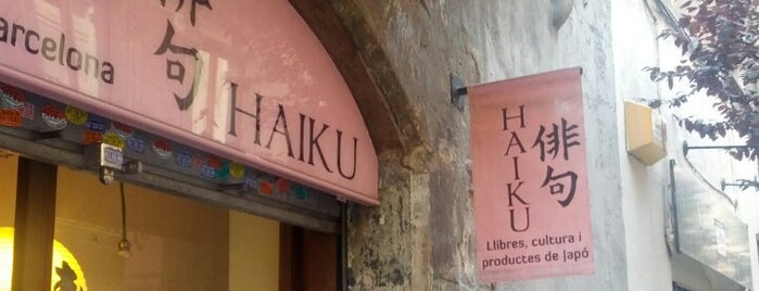 Haiku is one of Barcelona.