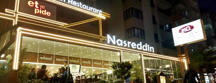 Nasreddin restaurant is one of Antalya.