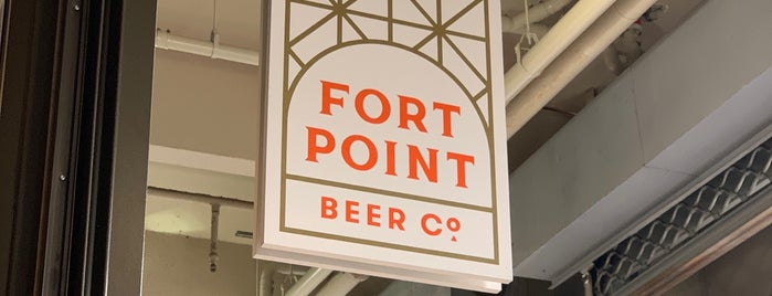 Fort Point Beer Company is one of SF - Drinks.
