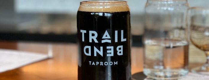 Trailbend Taproom is one of Places to drink.