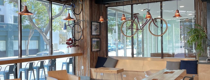 10Speed Coffee is one of Los Angeles cafes.