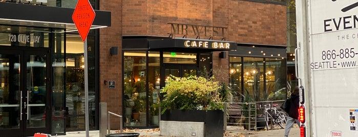 Mr. West Cafe Bar is one of Seattle.
