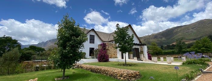 Oldenburg Vineyard is one of The Mother City.
