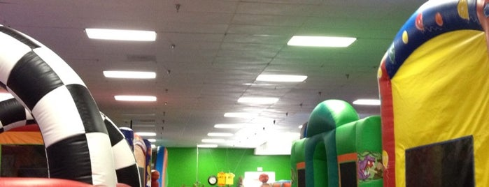 Frogg's Bounce House is one of LA.