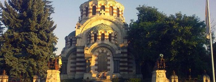"Параклис-мавзолей ""Св. Георги Победоносец"" (St George the Conqueror Chapel Mausoleum) is one of The 100 National Tourist Sites."