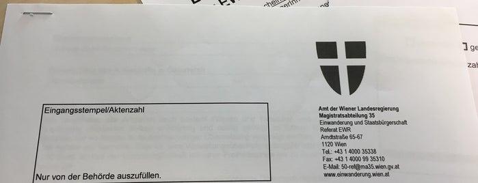 MA35 - Referat EWR is one of Karl : понравившиеся места.