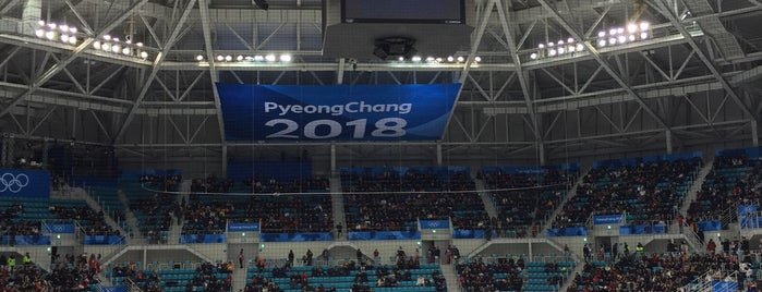 PyeongChang 2018 Olympic Winter Games is one of Lieux qui ont plu à Scott.