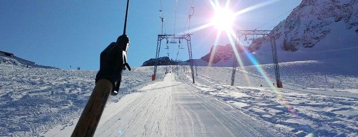 Schlepplift Daunferner I is one of Stubaier Gletscher / Stubai Glacier.