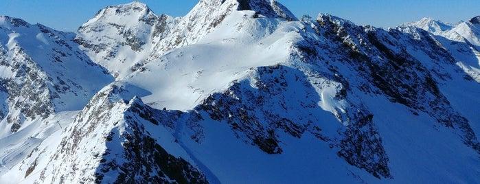 Stubaier Wildspitze (3340m) is one of Stubaier Gletscher / Stubai Glacier.