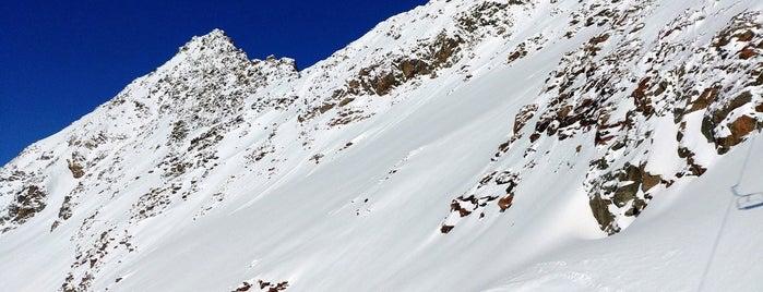 Wildspitz Bergstation is one of Stubaier Gletscher / Stubai Glacier.