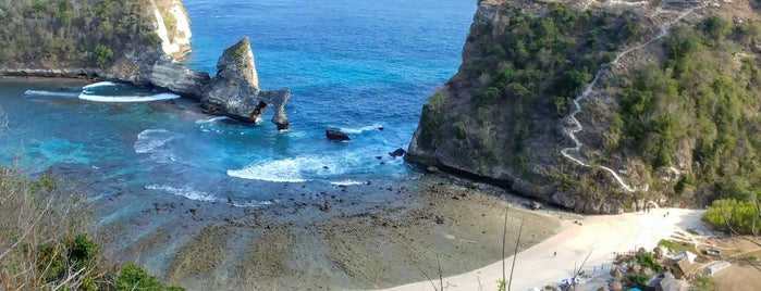 Atuh Beach is one of Bali.