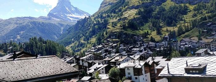 Gornergrat Bahn is one of Zermatt.