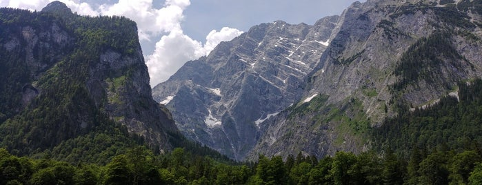 Watzmann is one of berchtesgaden.