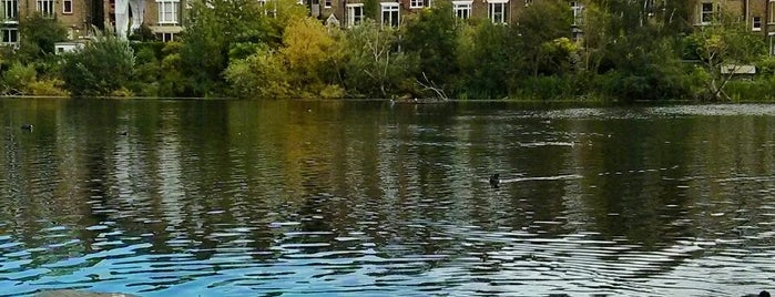 Hampstead Heath Ponds is one of 1000 Things To Do In London (pt 2).