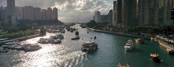 Ap Lei Chau Bridge is one of HK's Roads Path.