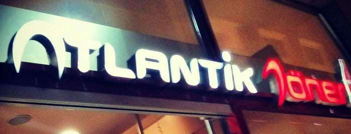 Atlantik Döner is one of Locais curtidos por Selcuk.