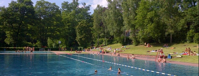 Freibad Naturgarten is one of Nuremberg's favourite places.