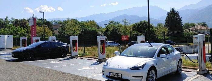 Tesla Supercharger is one of Tesla France CH B.