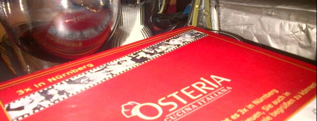 Osteria Del Centro is one of Nuremberg's favourite places.