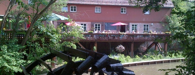 Satzinger Mühle is one of Nuremberg's favourite places.