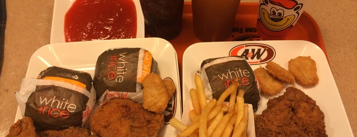 A&W is one of F.