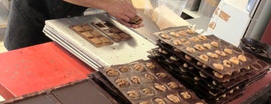 Chocolatier Laurent Gerbaud is one of Bons plans Bruxelles.