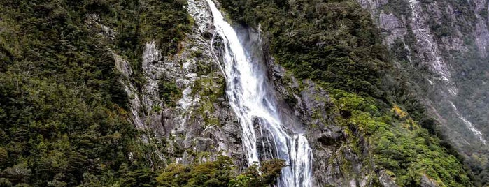 Milford Sound is one of South Island, NZ.