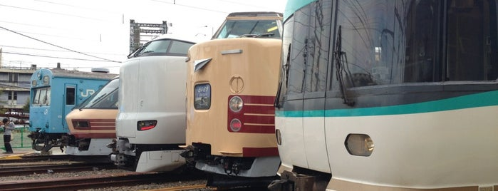 JR西日本 吹田総合車両所 本所 is one of JRの総合車両センター・工場.