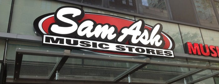Sam Ash Music is one of Not yet been.