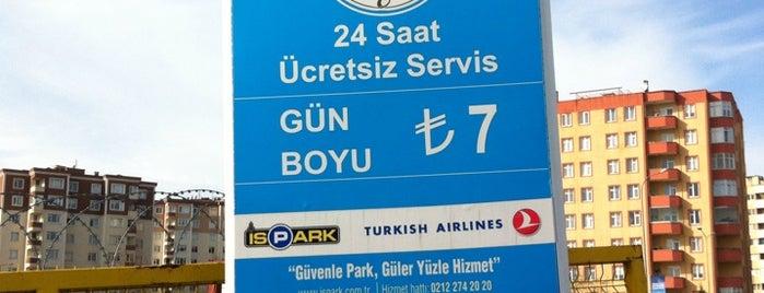 İspark P+R is one of Tempat yang Disukai Onur.