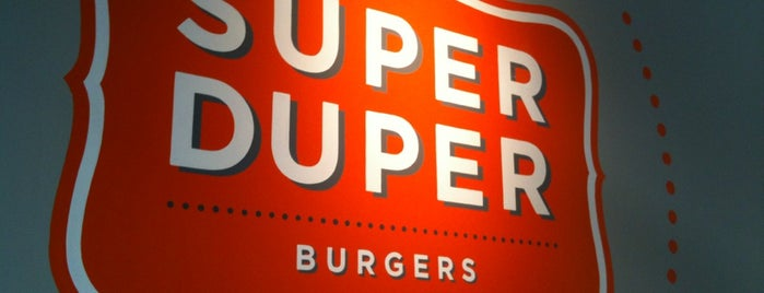 Super Duper Burgers is one of Restaurants (SF Bay Area).